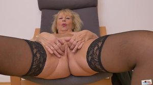 Fucking, Babysitter, Mature, Orgasm, Huge, Chubby, Wanking