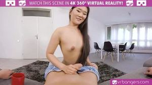 Babe, Asian, Cock, Pov, Tits, High definition, Masturbation