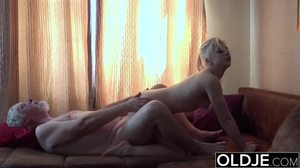 Fucking, Teen, Petite, Blowjob, Small tits, Old and young, European