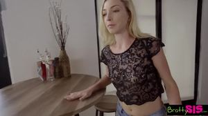 Skinny, Blowjob, Hairless, Not brother, Blonde, Not sister, Young